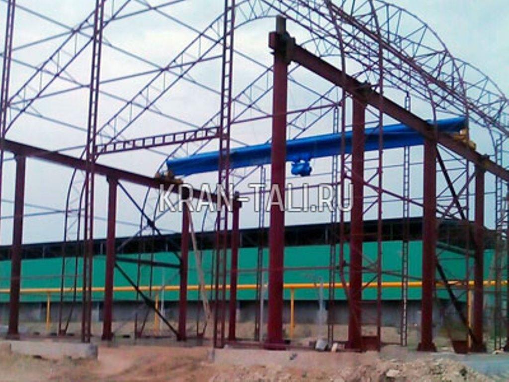 Крановая эстакада и мостовой кран для ООО «Азия-цемент»